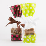 200g bags of Devon Cottage Organic Fudge