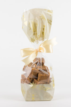 200g Bag - Angels with Gold Ribbon - of Devon Cottage Organic Fudge